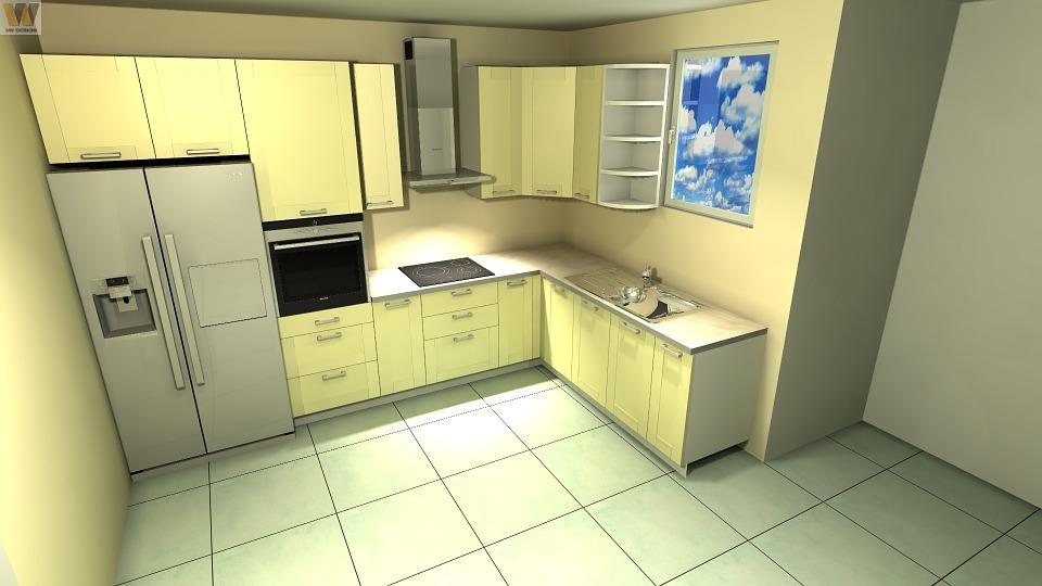 Cucina piccola: ottimizzare spazi con panca con vano contenitore