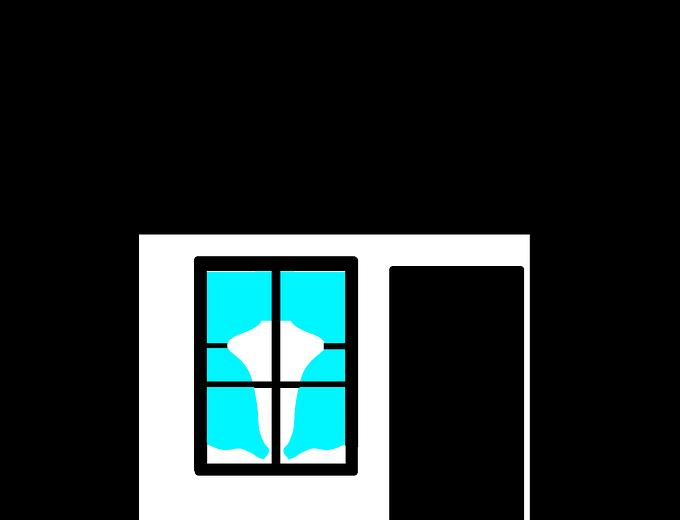 Niente pareti: in una casa piccola, funzionalità è tutto